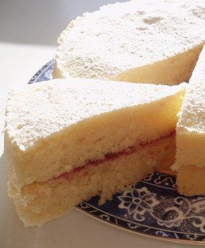 White Velvet Butter Cake