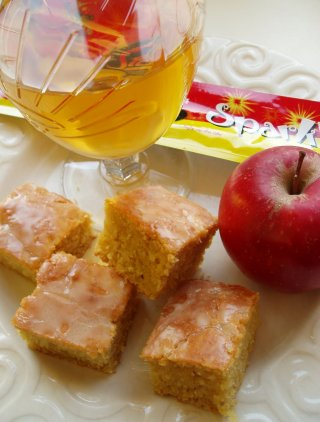 Apple and Cider Parkin