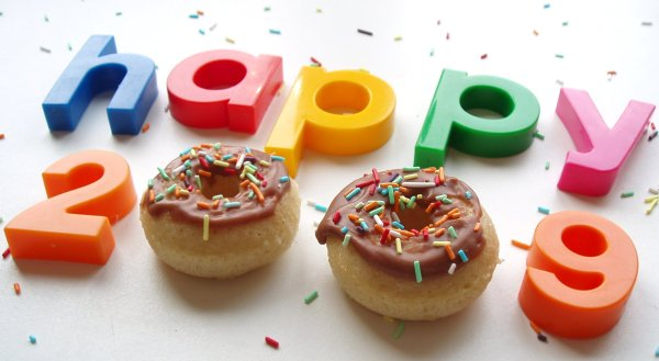 happy doughnuts 2009