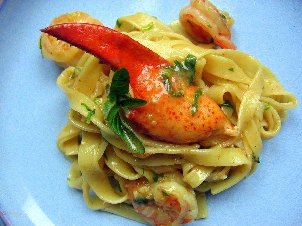 Seafood Creole Tagliatelle