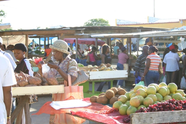 Cheapside Market, Bridgetown, Barbados