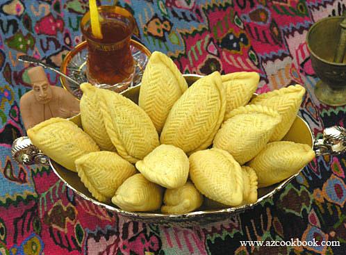 Shekerbura - Making a Novruz Dessert Step by Step