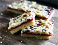 Raspberry Crumb Slices